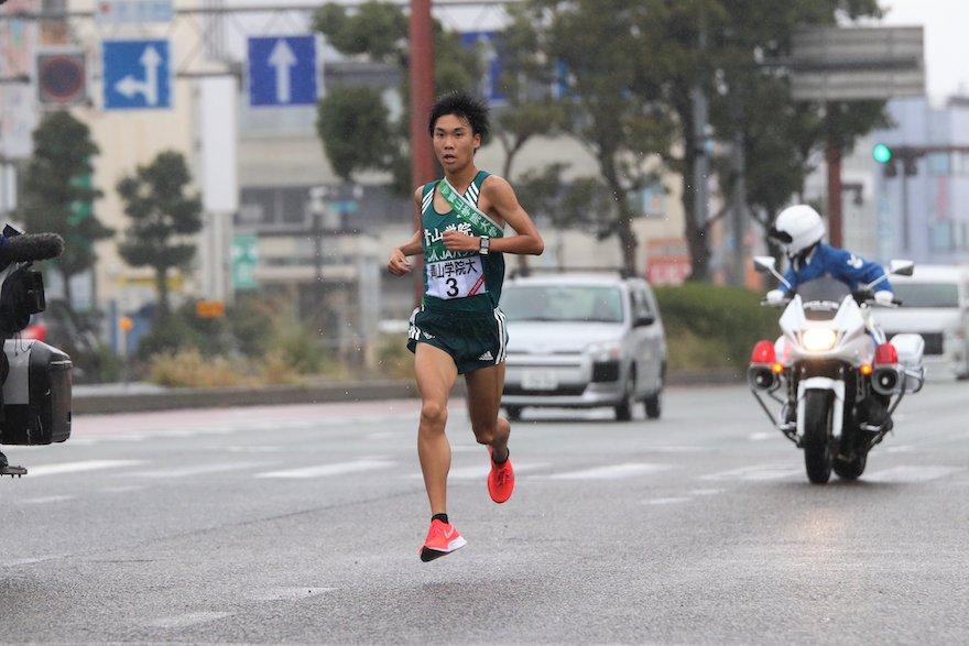 吉田圭太選手全日本駅伝選手権