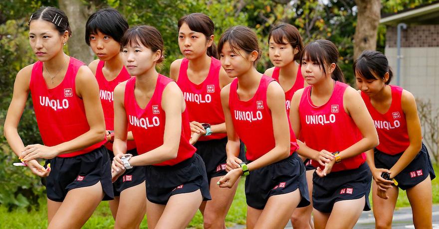 女子陸上競技部ユニフォーム