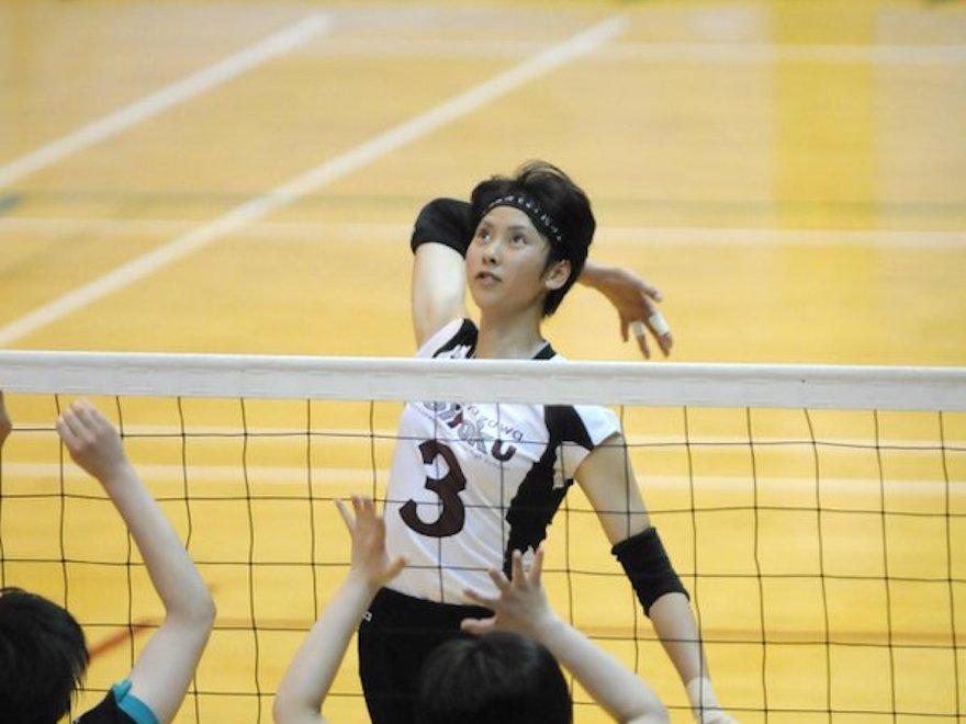 吉岡可奈選手の高校時代