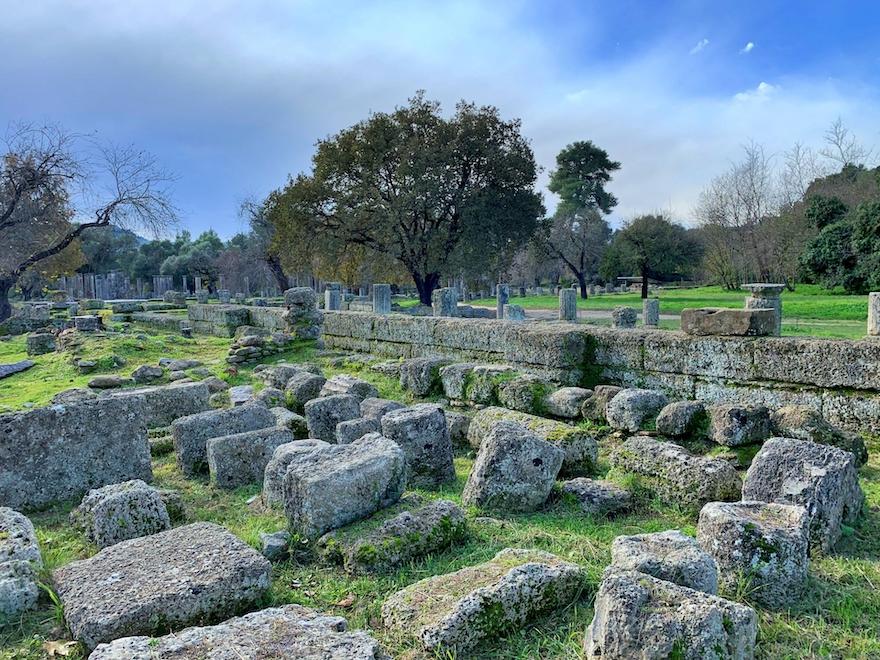 オリンピア古代遺跡